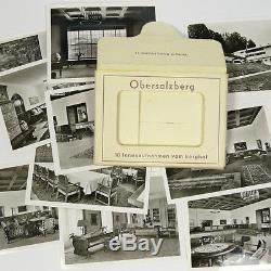 10 Original German B&W Berghof Obersalzberg Photos Hitler's House Germany b WWII