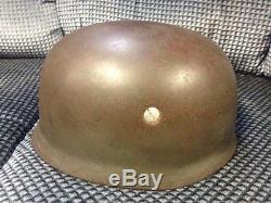 100% original WW2 German FJ helmet