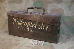 100% original ww2 german Waffenmeister MG box Rare patronenkasten 1940