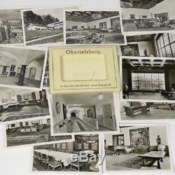 14 Original German B&W Berghof Obersalzberg Photos Hitler's House Germany b WWII