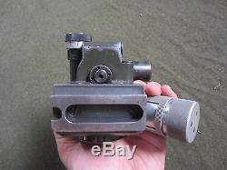 63y ORIGINAL WWII GERMAN MG34 MG42 lafette tripod OPTICAL SIGHT OPTICS