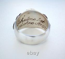 Authentic WWII WW2 german Poison Ring