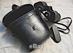 Carl Zeiss Jena Original Wehrmacht 1942 WW2 10x50 german Binoculars BLC+ compl
