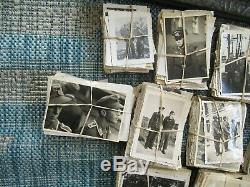 Dealer/Reseller lot WWII Original German Photo Combat 2500+ photos & 6 Albums