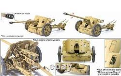 Dragon 75016 1/6 WWII German 5cm Pak 38 anti-tank Gun Toy Assembled Model Set