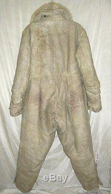ExR Original Bulgarian WWII Pilot lamb suit, model German LUFTWAFFE uniform