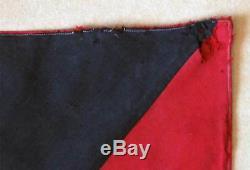 Extremely Rare Original German WW2 Volunteer Cuban Cossacks Regimental Flag 1944