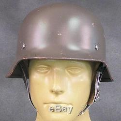 Finnish Contract Original military German M40 WWII Steel Helmet