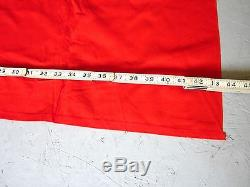 GERMAN WW2 Banner Flag Original Light Use 95 x 44 with Double-Sided 30 Symbol