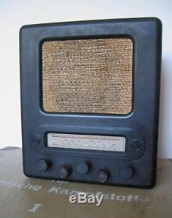 GERMAN WW2 ERA RADIO Volksempfänger VE 301 Dyn Bakelite Vintage Original