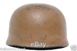 GERMAN WWII ORIGINAL PARATROOPER M 38 HELMET ckl 71 GERMANY WW2 PARA FJ