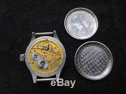 Guaranteed Original German Ww2 Luftwaffe Iwc Big Pilot`s Watch B Uhr Chronograph