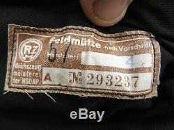 Genuine German Ww2 Nazi Nskk Overseas Cap Niedersachsen Unissued Unworn
