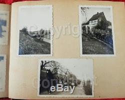 Genuine Original WW2 German RAD Photograph Album Containing Picture Of Dunkirk