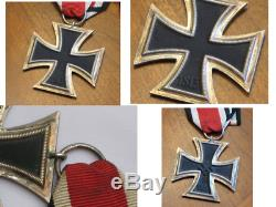 German 1939 Third Reich WWII Iron Cross with Ring stamped No 25 Original