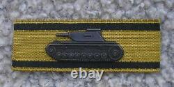 German Arm Shield Tank destroyer WW2 Original rare mint condition