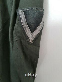 German Heer Wehrmacht M42 HBT drillich tunic Infantry regiment 100% original ww2