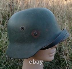 German Helmet M35 WW2 Combat helmet M 35 WWII size 62
