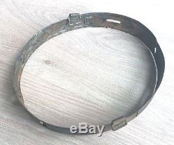 German Helmet M42 ET62 / 132 Naval forces + Aluminum Tape Liner Original WW2