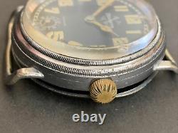 German Helvetia WWII Military Pilot Officers LUFTWAFFE Wrist Watch