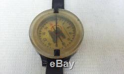 German Luftwaffe Pilot Flying Compass Ak39 Ww2 Complet