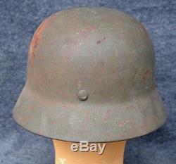 German M35 Helmet Original WW2