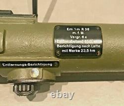 German WW2 Entfernungsmesser 36 Rangefinder