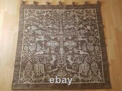 German WW2 Era Ahnenerbe Wall Tapestry (Clan Corner Sippenecke) (Brown)