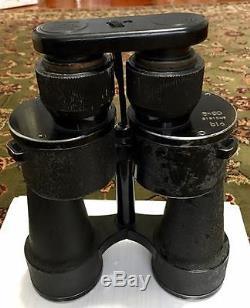 German WW2 Kriegsmarine Tall 8x60 Zeiss U Boat Commanders Binoculars ORIGINAL