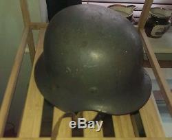 German WW2 M42 Helmet Original