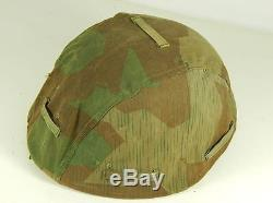 German WW2 M42 Helmet with Cloth Cover untouched all original