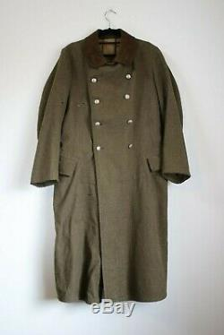 German WWII Era RAD / Reichsarbeitsdienst mantel or Long Coat Original Item