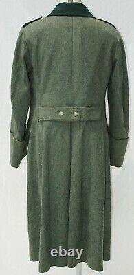 German WWII ORIGINAL Army (HEER) M36 Greatcoat Medical NCO