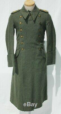 German WWII ORIGINAL Kreigsmarine Coastal Artillery NCO's Greatcoat