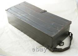 German WWII WW2 ZB 26 MG 26 (t) Ammo Case Box