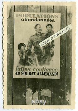 German Wehrmacht Poster WW2 Original HUGE Size French campaign uniform