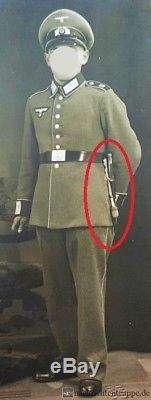 German Ww2 Officer Sword Dagger Knife Knot Portepee Troddel Germany Original