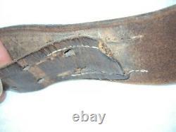 German Ww2 Original Elite Steel Belt Buckle And Belt Set Em/nco
