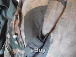 German camoflage tunic elite waffen ww2 original
