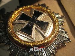 German cross golden 1941 Kriegsmarine German medal original WW II war ships rare