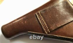 German holster WWII military Walther Zella Mehlis PP brown Akah original rare
