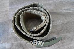 German ww2 Wehrmacht Afrikakorps tropical web belt 90 cm & buckle 100% original