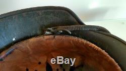 German ww2 m40 single decal Heer helmet excellent original untouched condition