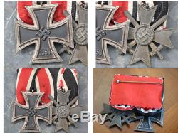 German1939 Third Reich WWII Two Piece Medal Bar Set with Numbered Rings Original