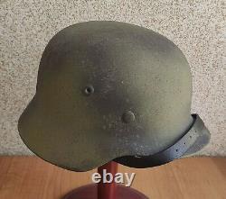 Helmet german original nice helmet M35 size 64 have a number original WW2 WWII