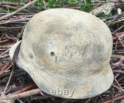Helmet german original nice helmet M35 size 68 original WW2 WWII max large size