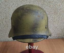 Helmet german original nice helmet M40 size 64 have a number original WW2 WWII