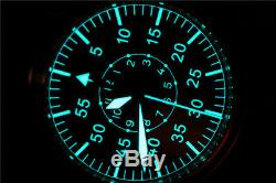 Japan NH35 Mens Wrist watch German Big Pilot Sapphire 300M B-Uhr WW2 Flieger