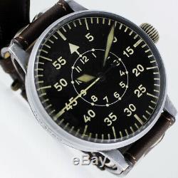 LACO PILOT FLIEGER 2. WELTKRIEG WWII GERMAN AIRFORCE 55mm B-UHR FL23883