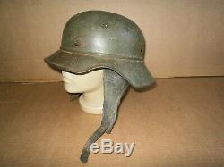 LUFTSCHUTZ WW2 WWII German helmet 100% OLD ORIGINAL